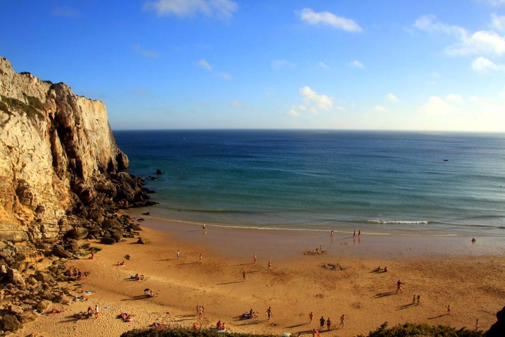 Praia Beliche Algarve, Portugal
