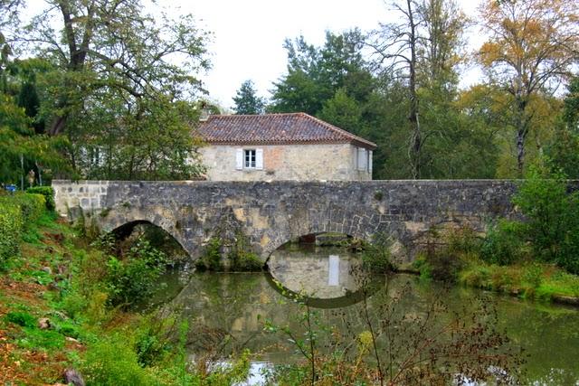Puente viejo, Poudenas