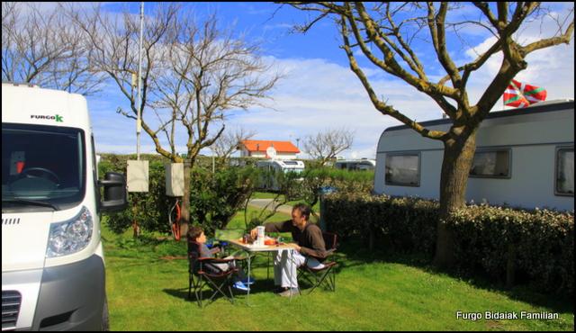 parcela camping Erromardie