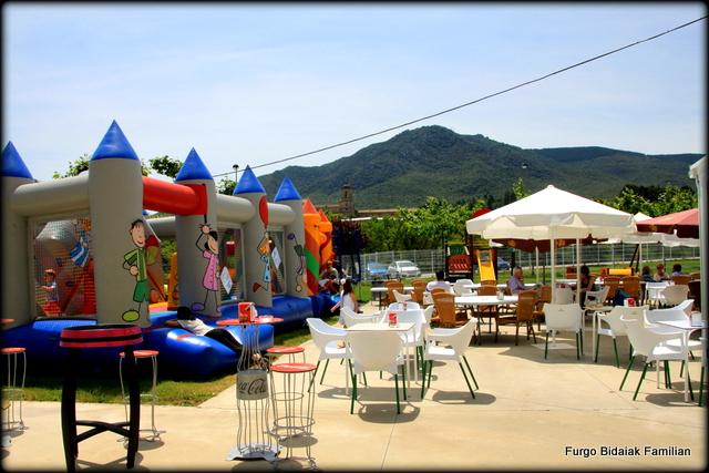 Parque de la cafetería de Aiegi