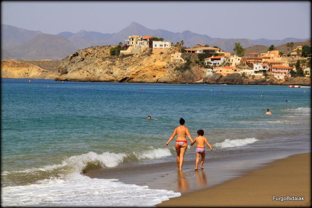 Playa de Mazarrón- Bolnuevo