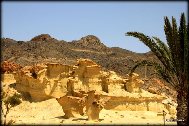 Caprichosas formaciones rocosas.