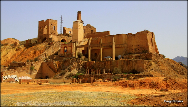 Antiguas minas de Mazarrón.