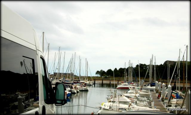 Vistas del puerto deportivo desde el area.