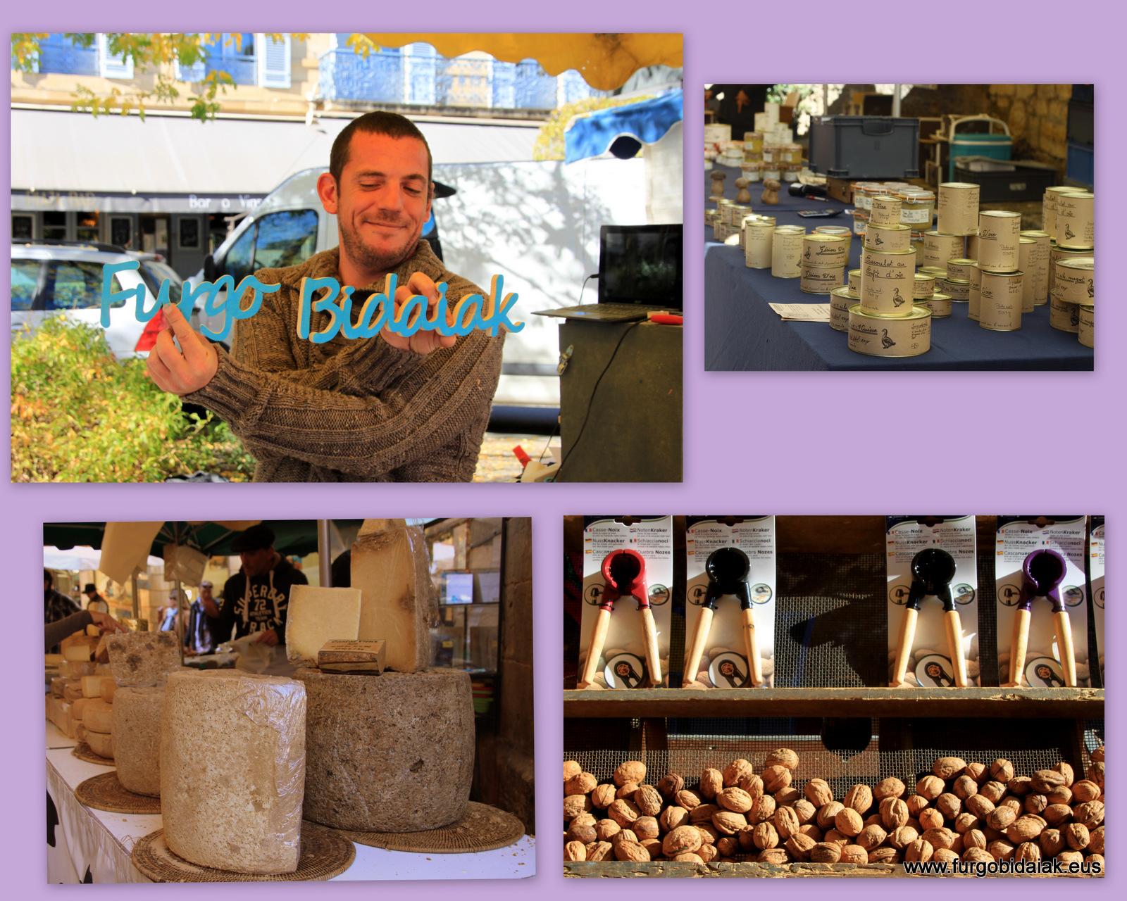 marché de Sarlat France
