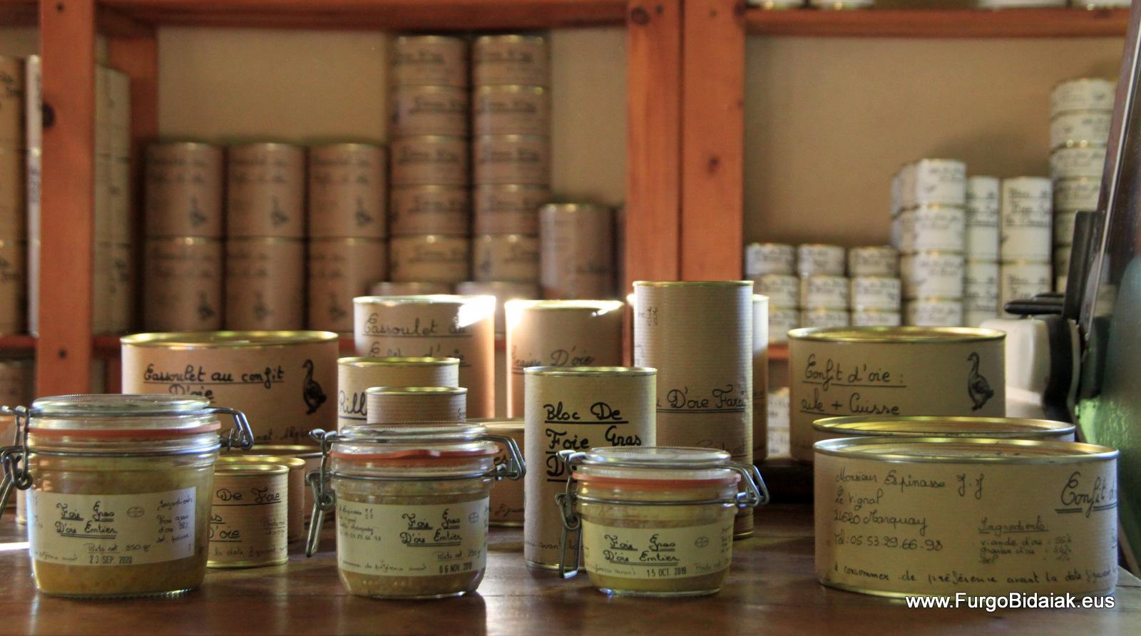 Produits d' oie Ferme du Vignal Dordogne