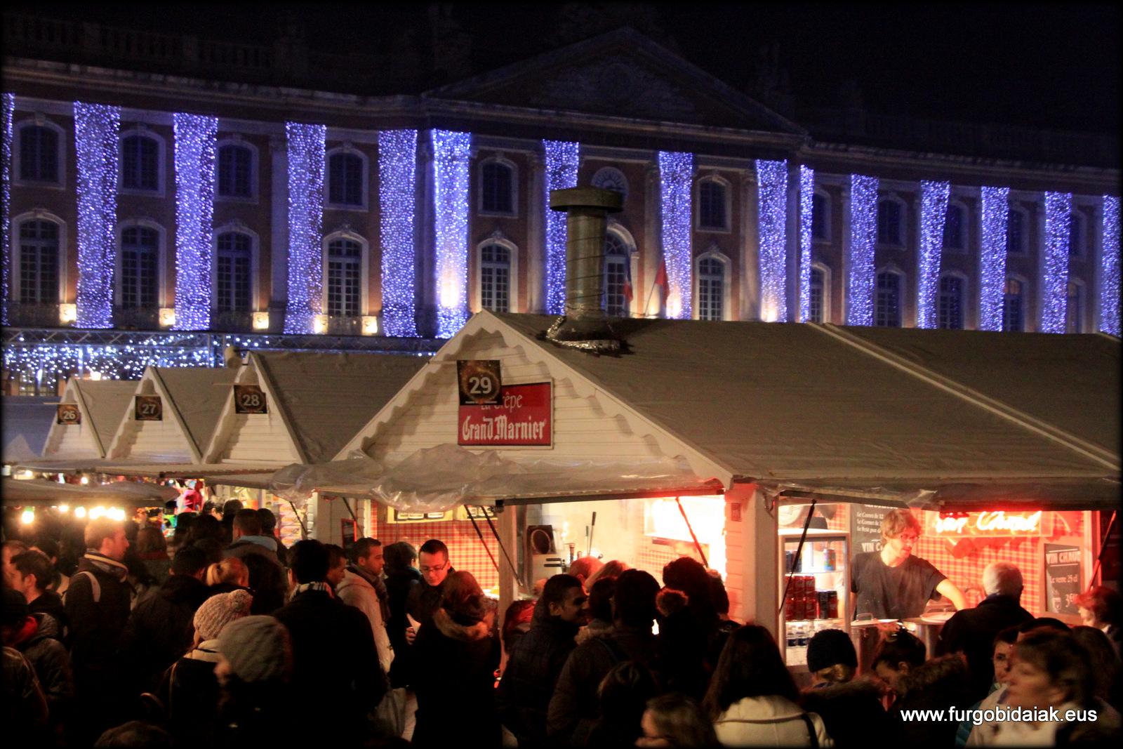 Mercado Navidad Toulouse