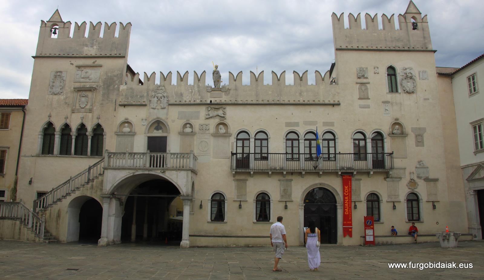 Palacio Pretoriano Koper eslovenia