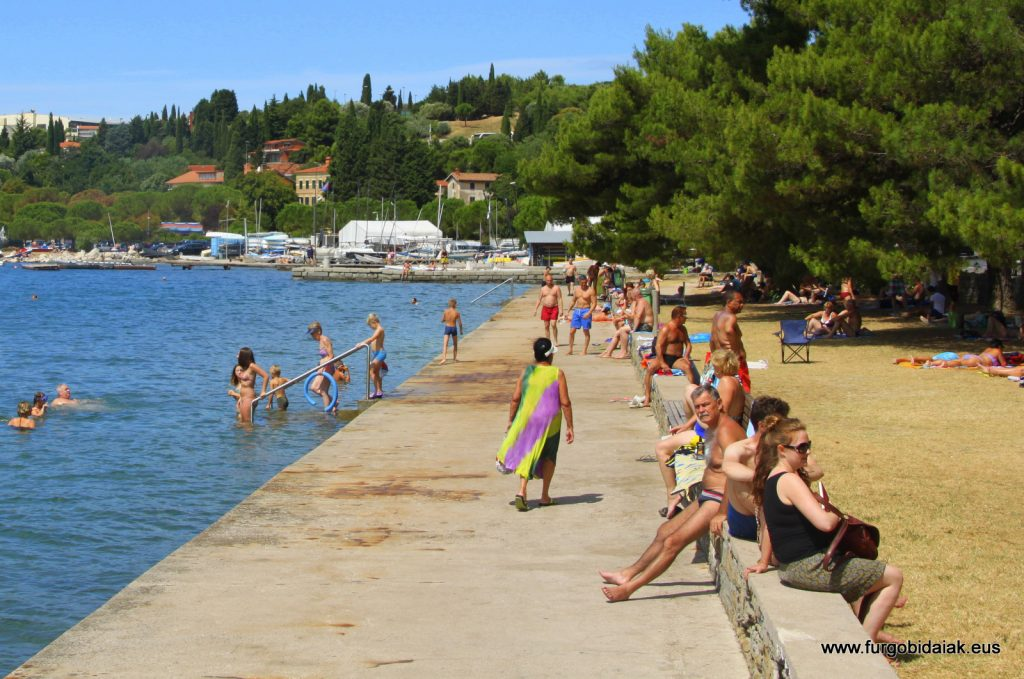 Playa Izola Eslovenia