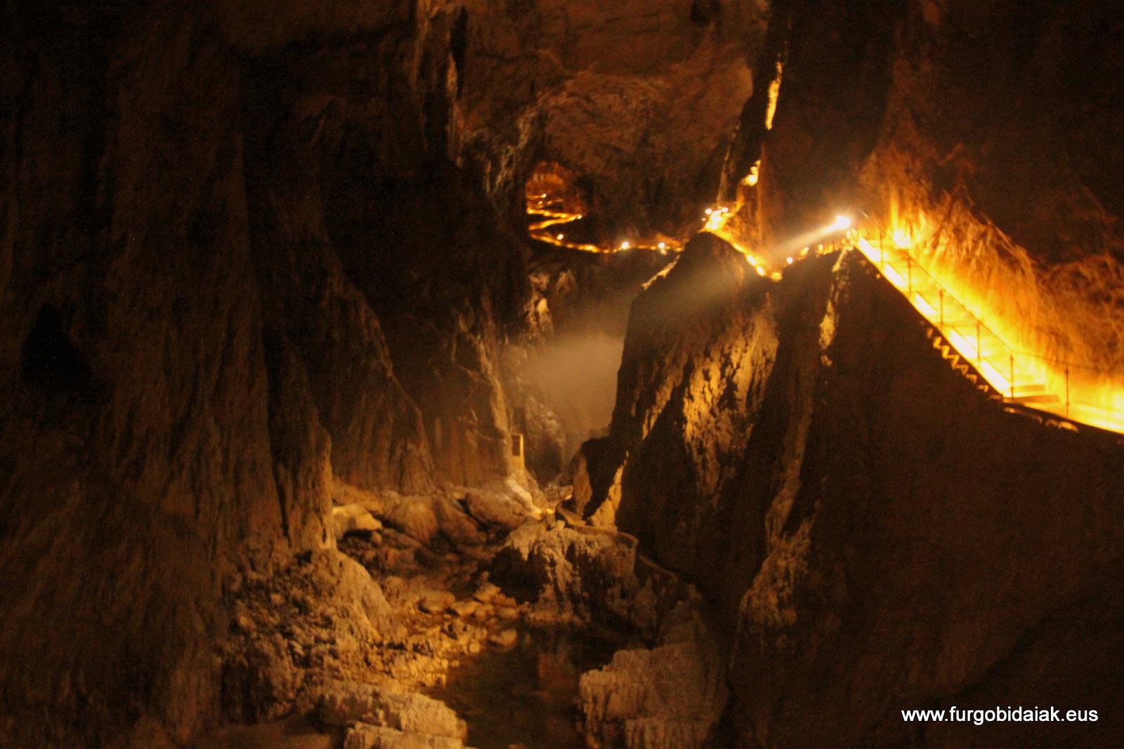 Cueva Skocjan Eslovenia