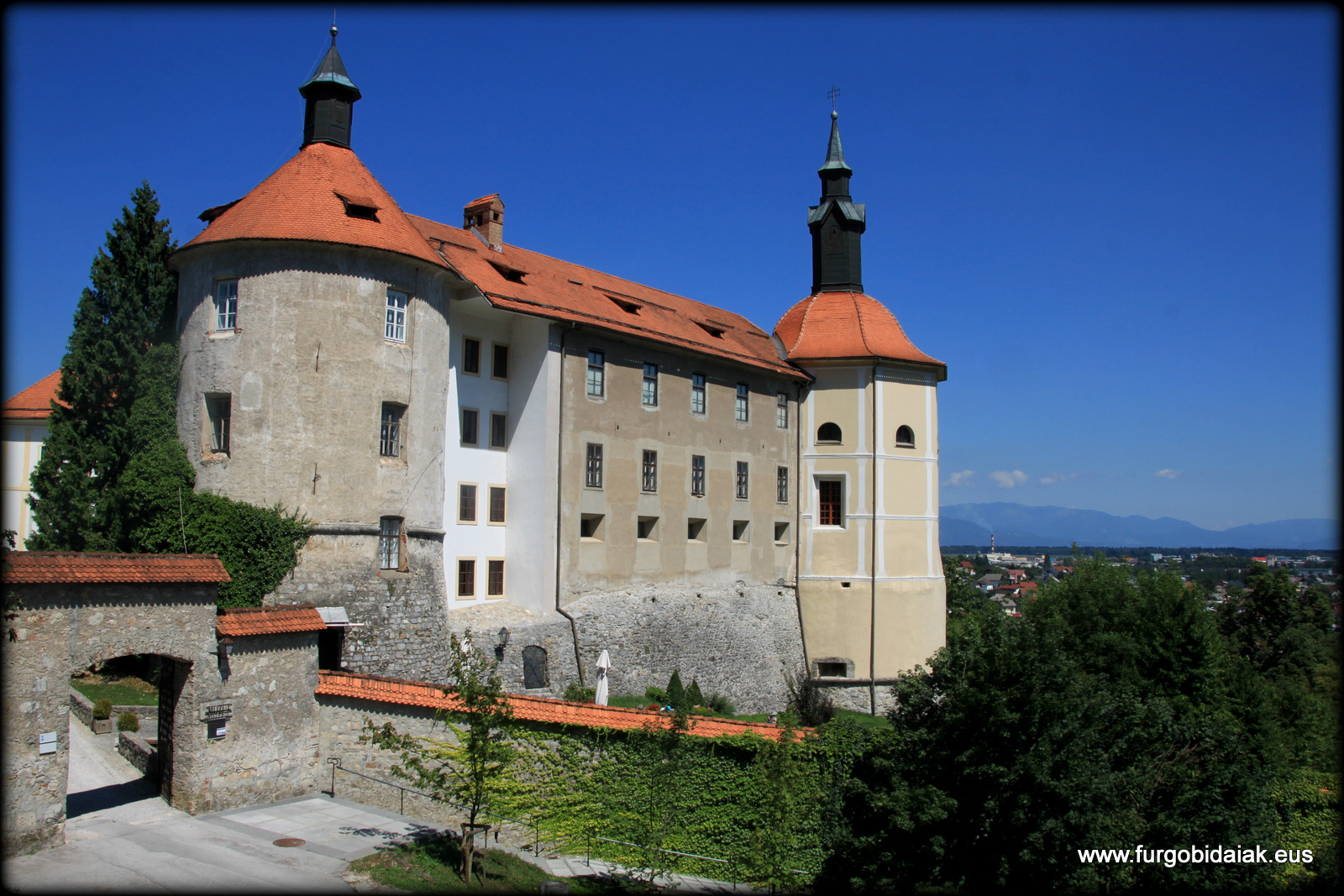Castillo Skofja Loka Eslovenia