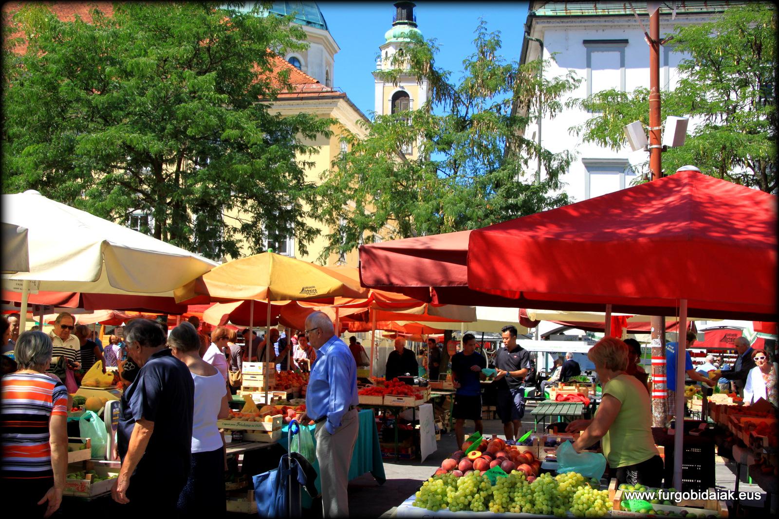 Mercado Central Jubljana Eslovenia