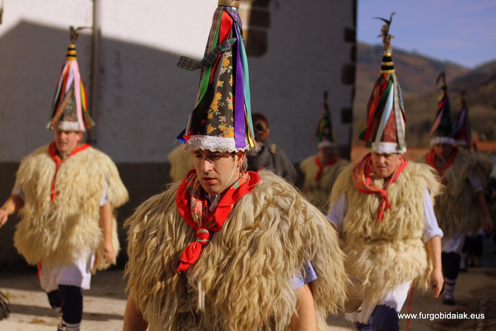 Joareak joaldunak Ituren inauteriak carnaval