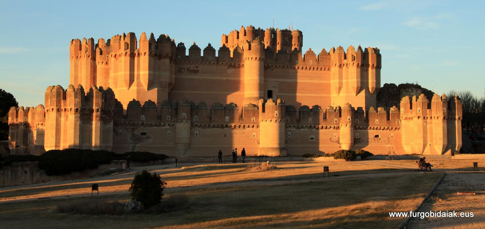 Castillo mudejar Coca Segovia