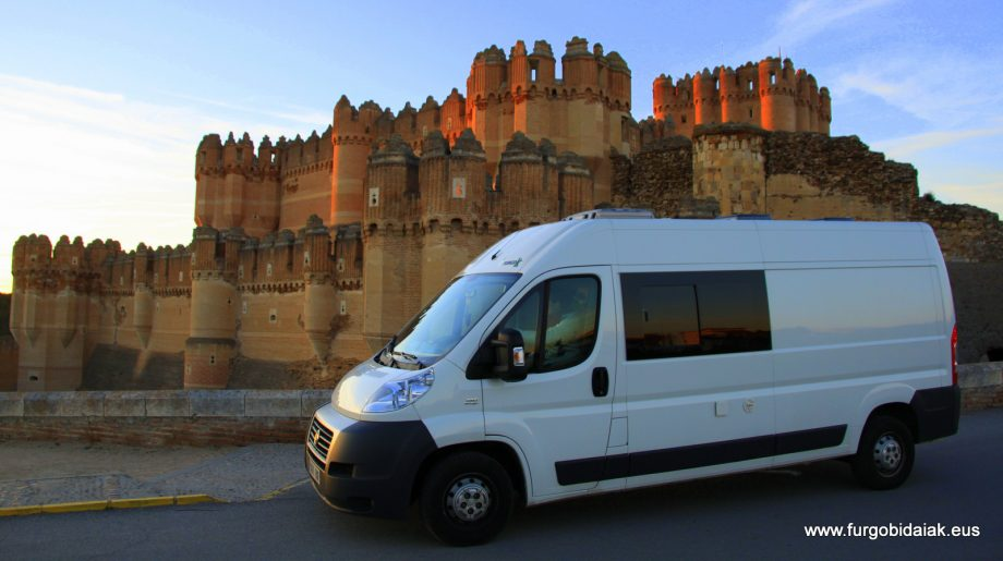 Ruta camper Segovia