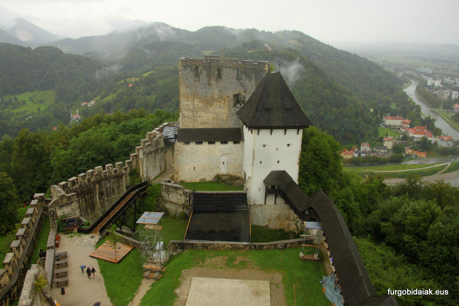 Castillo de Celje Eslovenia