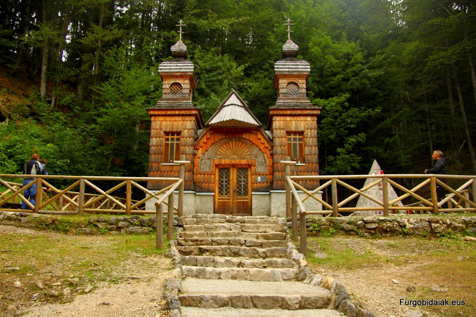capilla rusa Eslovenia
