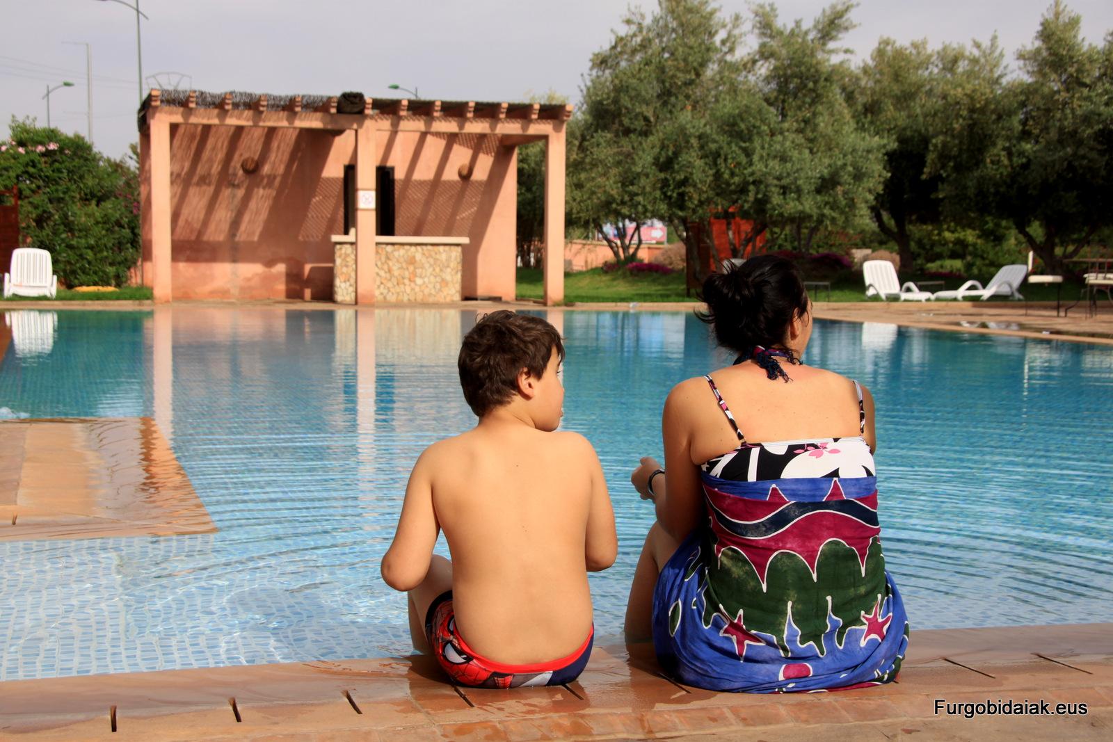 Camping Marruecos Ourika Camp