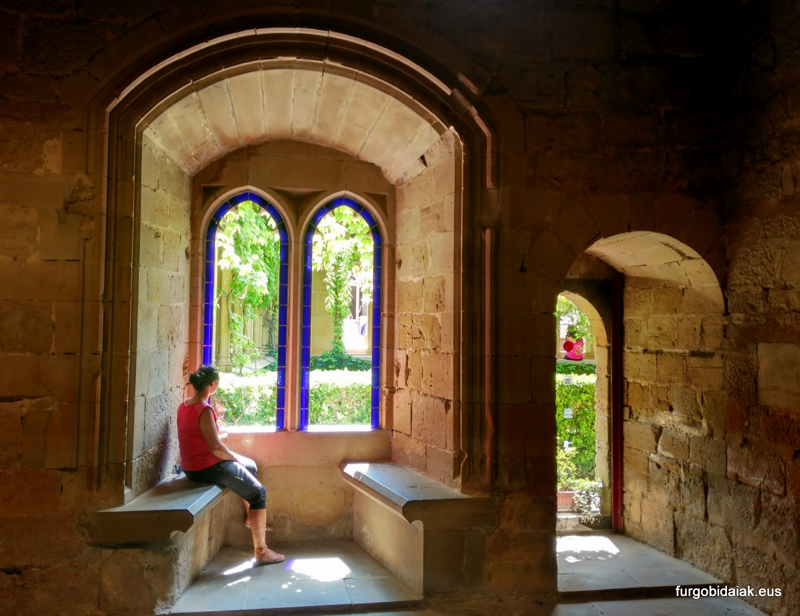 Palacio de Olite, estancia de la reina.