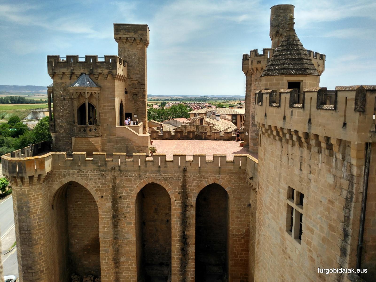 Palacio de Olite, Torre de Los Cuatro Vientos.
