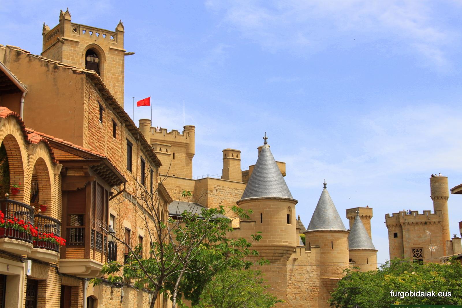 Palacio de Olite, ruta medieval por Navarra