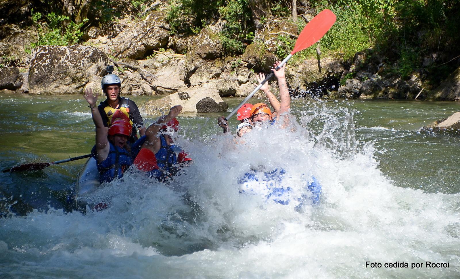 rafting Lllavorsí aaventura en familia, Lleida