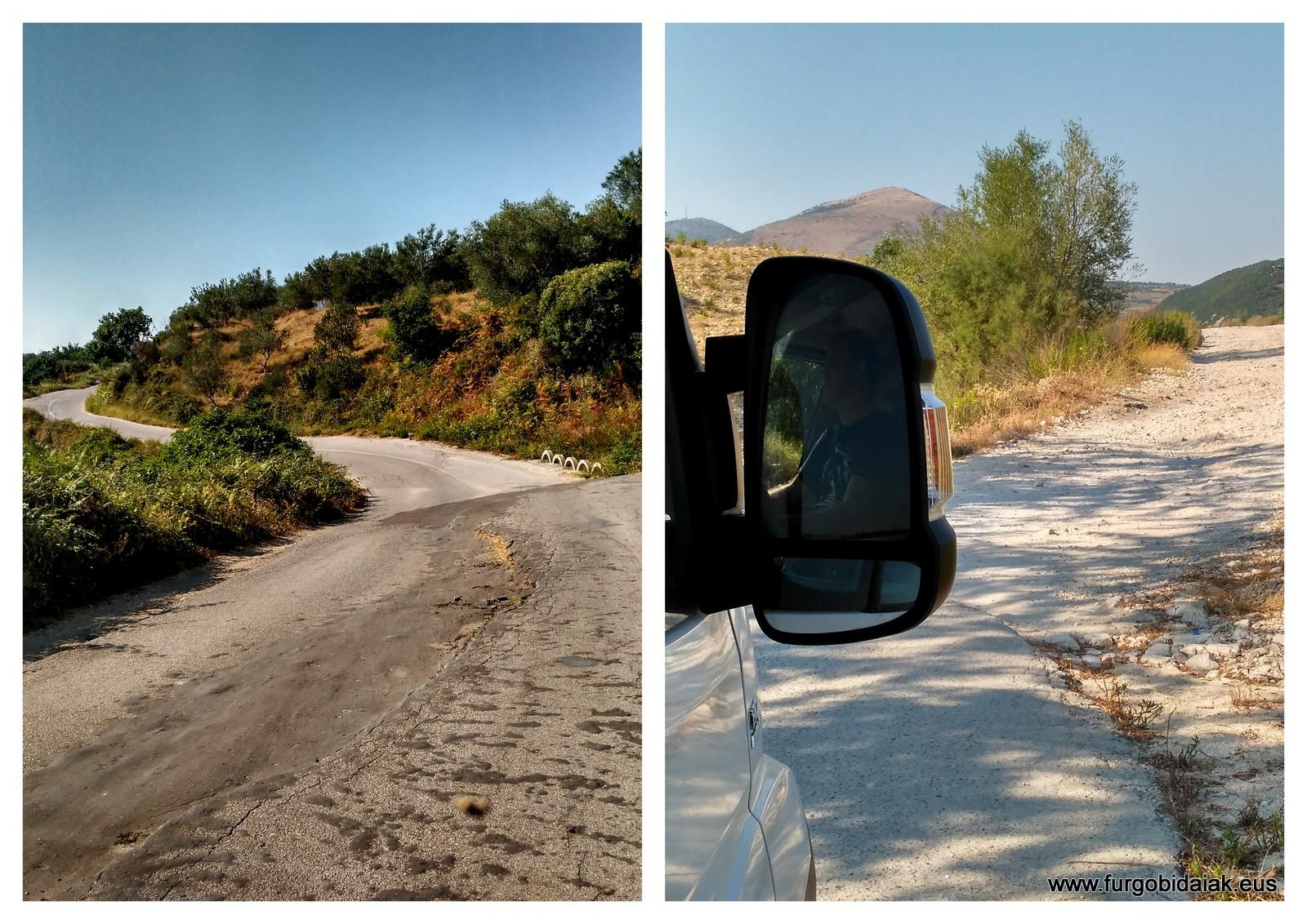 Viaje por Albania en camper