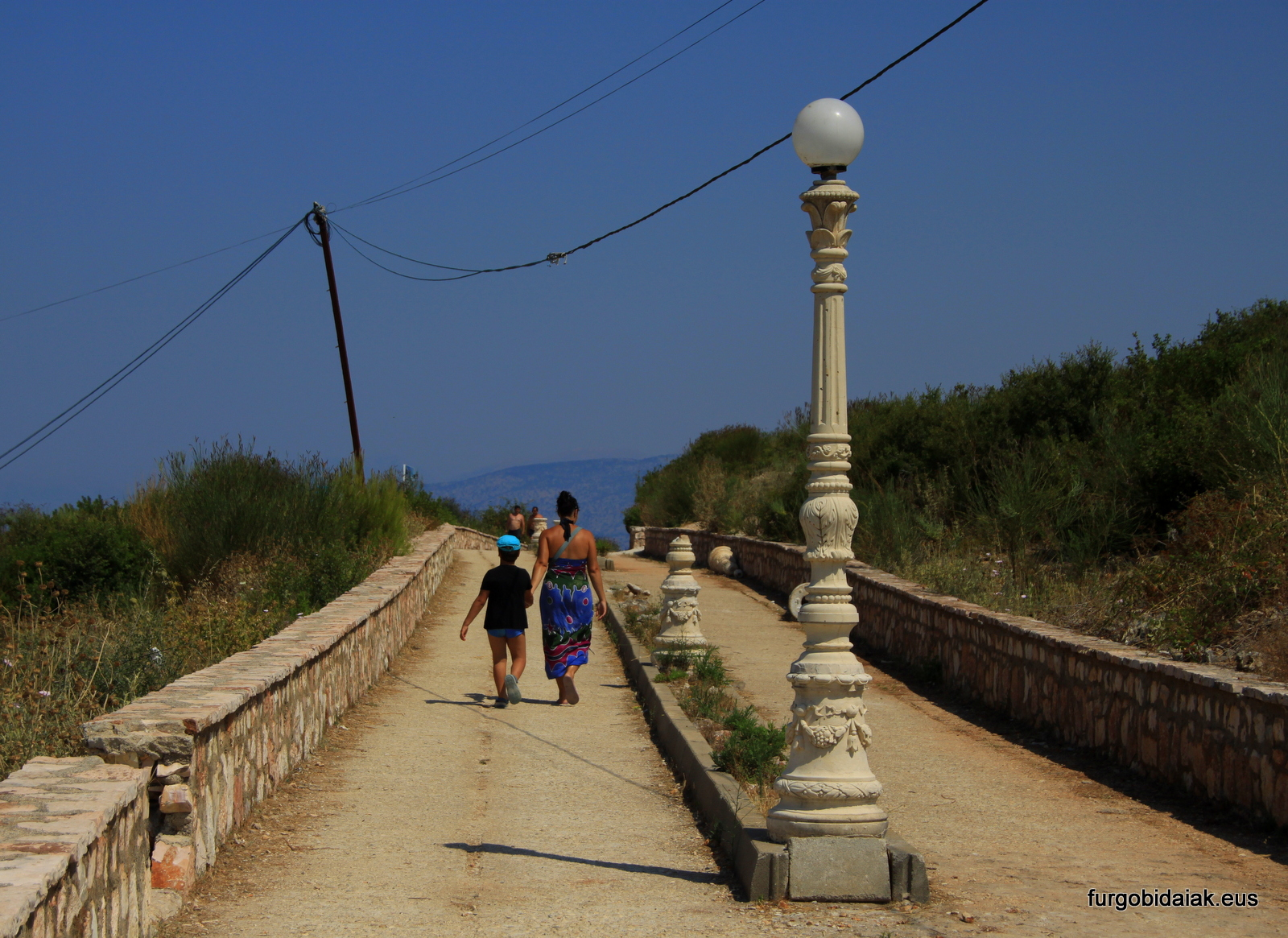 Paseo costero de Ksamil, Albania