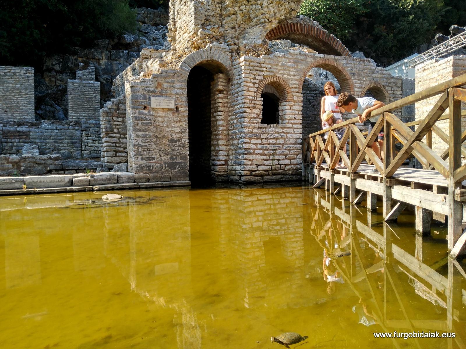 Templo de Asclepios, Butrint, Albania