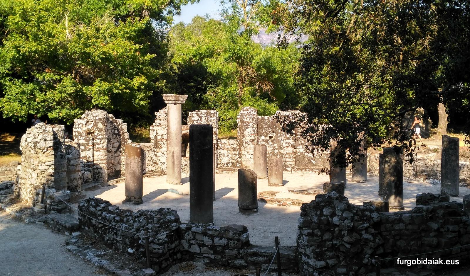 Batisterio paleocristiano, Butrint, albania