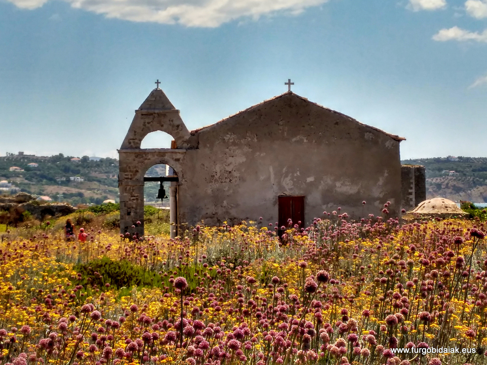 Iglesia veneciana, Metoni, Peloponeso, Grecia