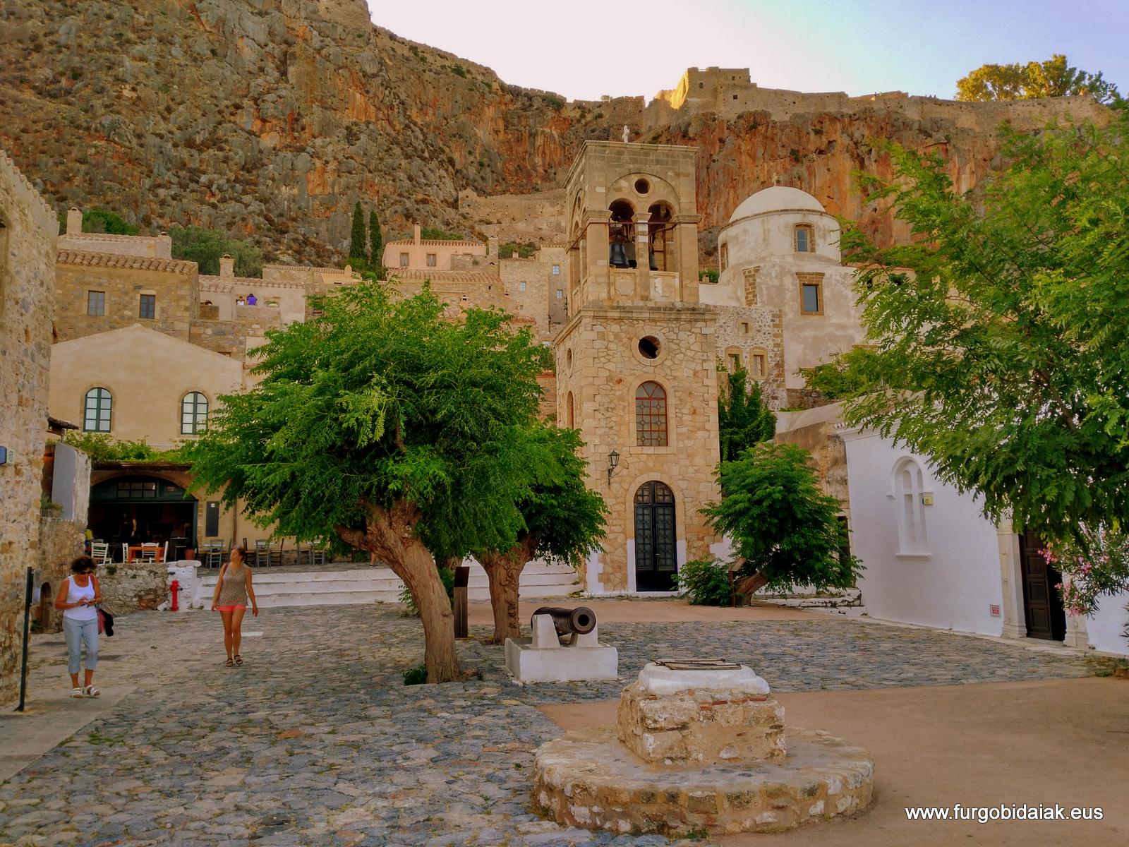 Monembasía, Peloponeso, Grecia