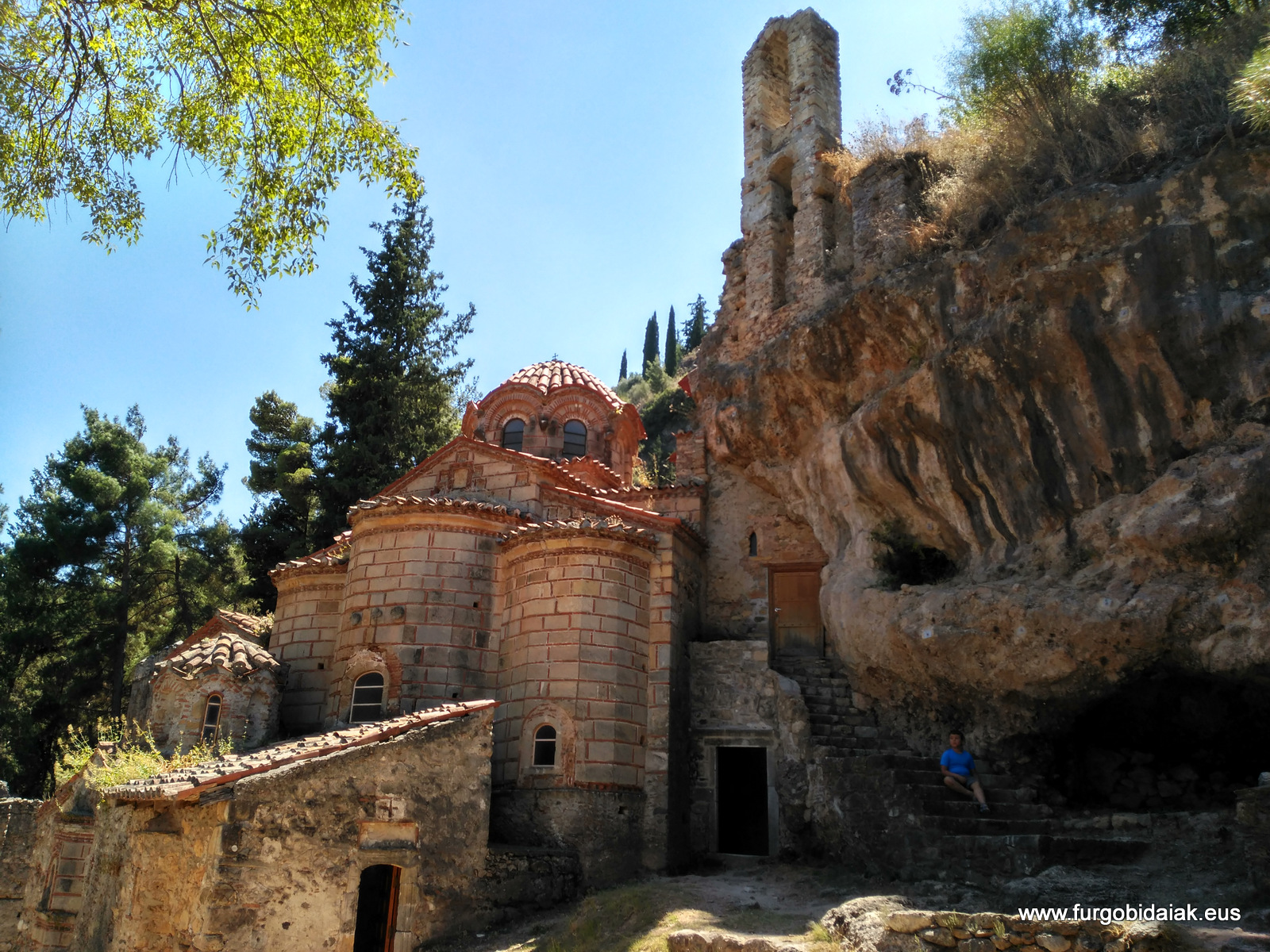 Monasterio Perivleptou, Mystra, Peloponeso