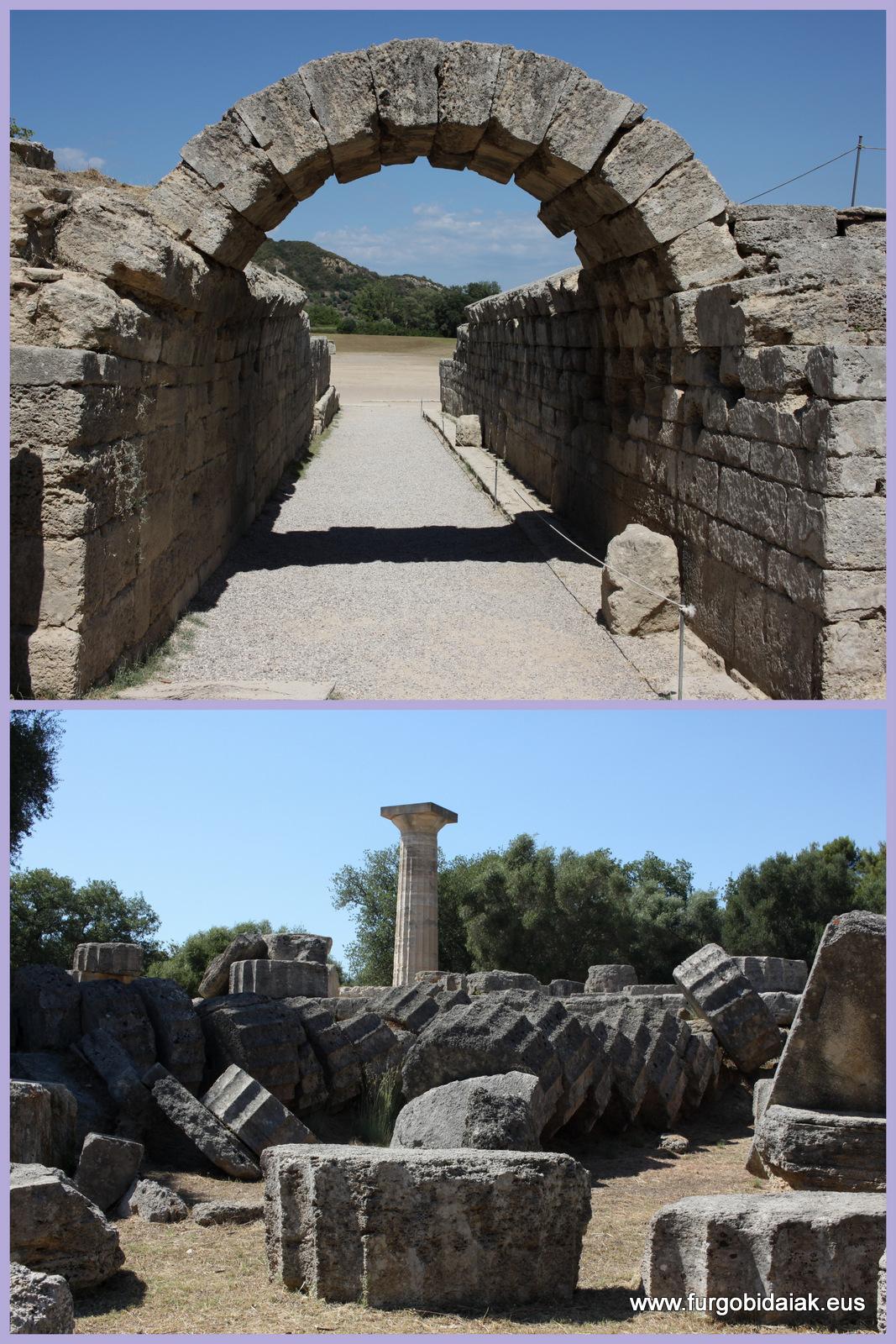 Olympia, Grecea, el Peloponeso