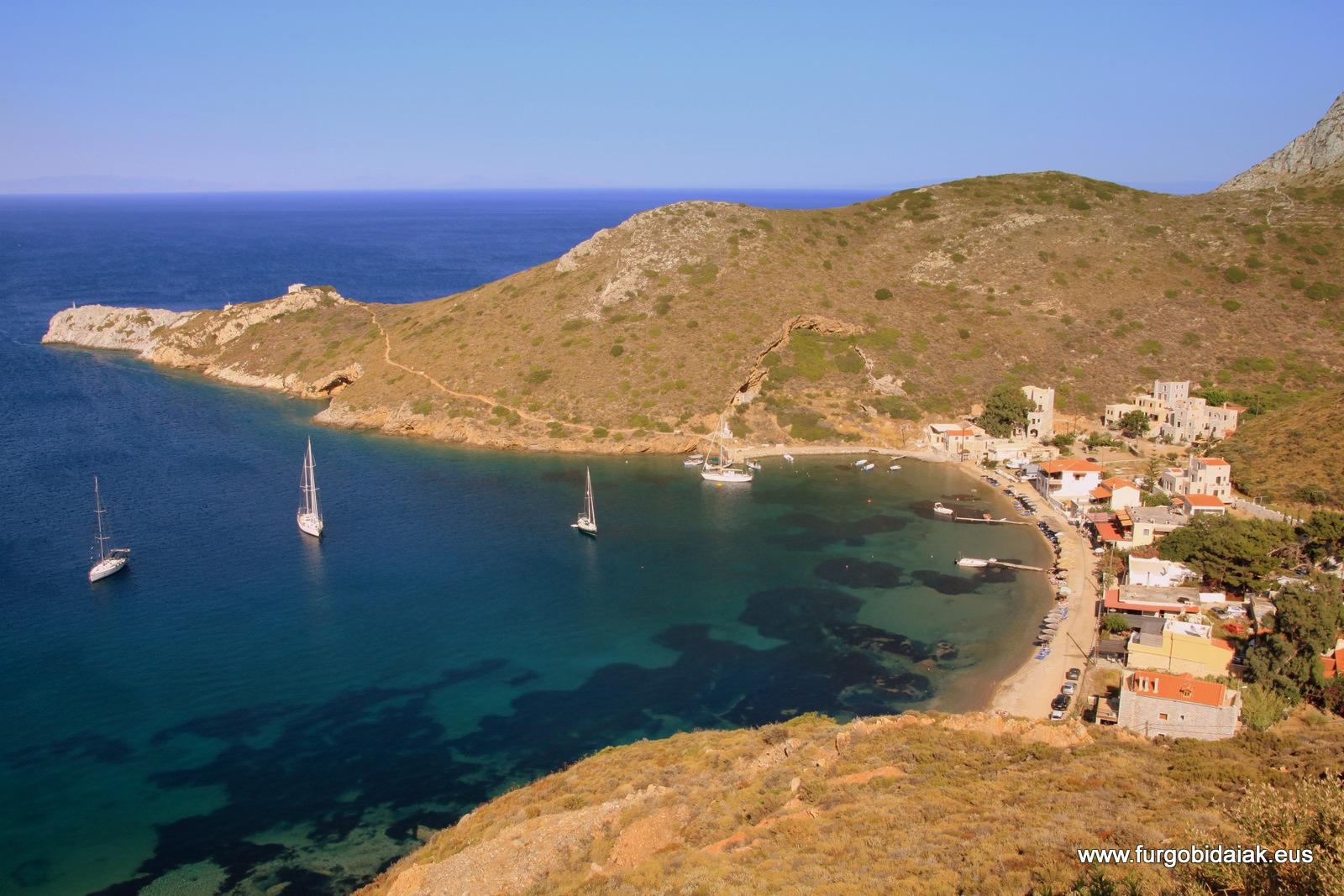 Porto Kagio, Peloponeso, Grecia