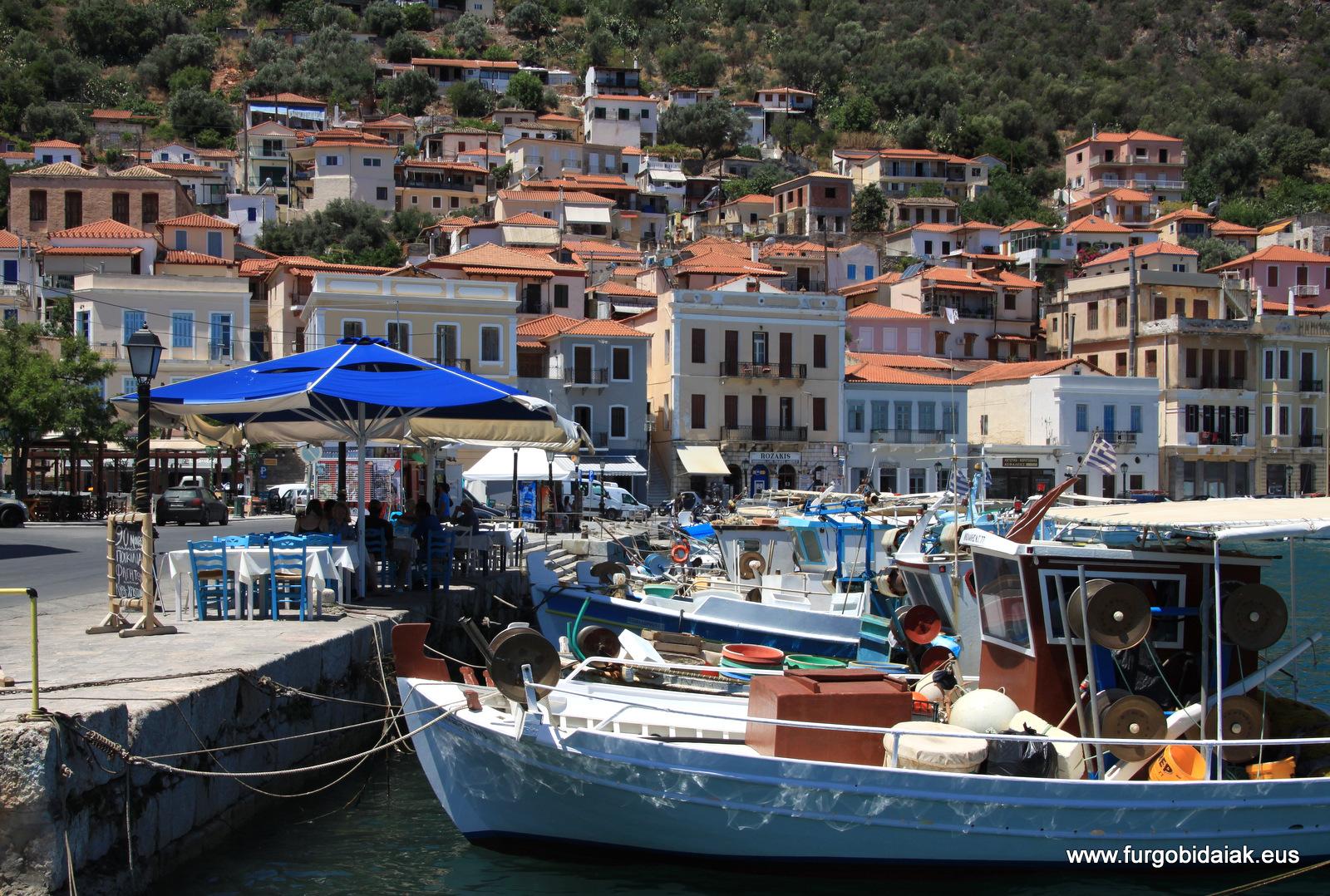 Gýtheio, Peloponeso, Grecia