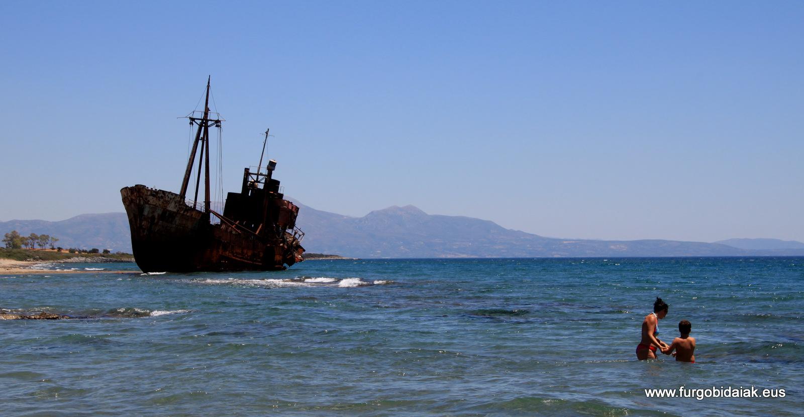Baño con dimitrios, Valtaki, Peloponeso, Grecia