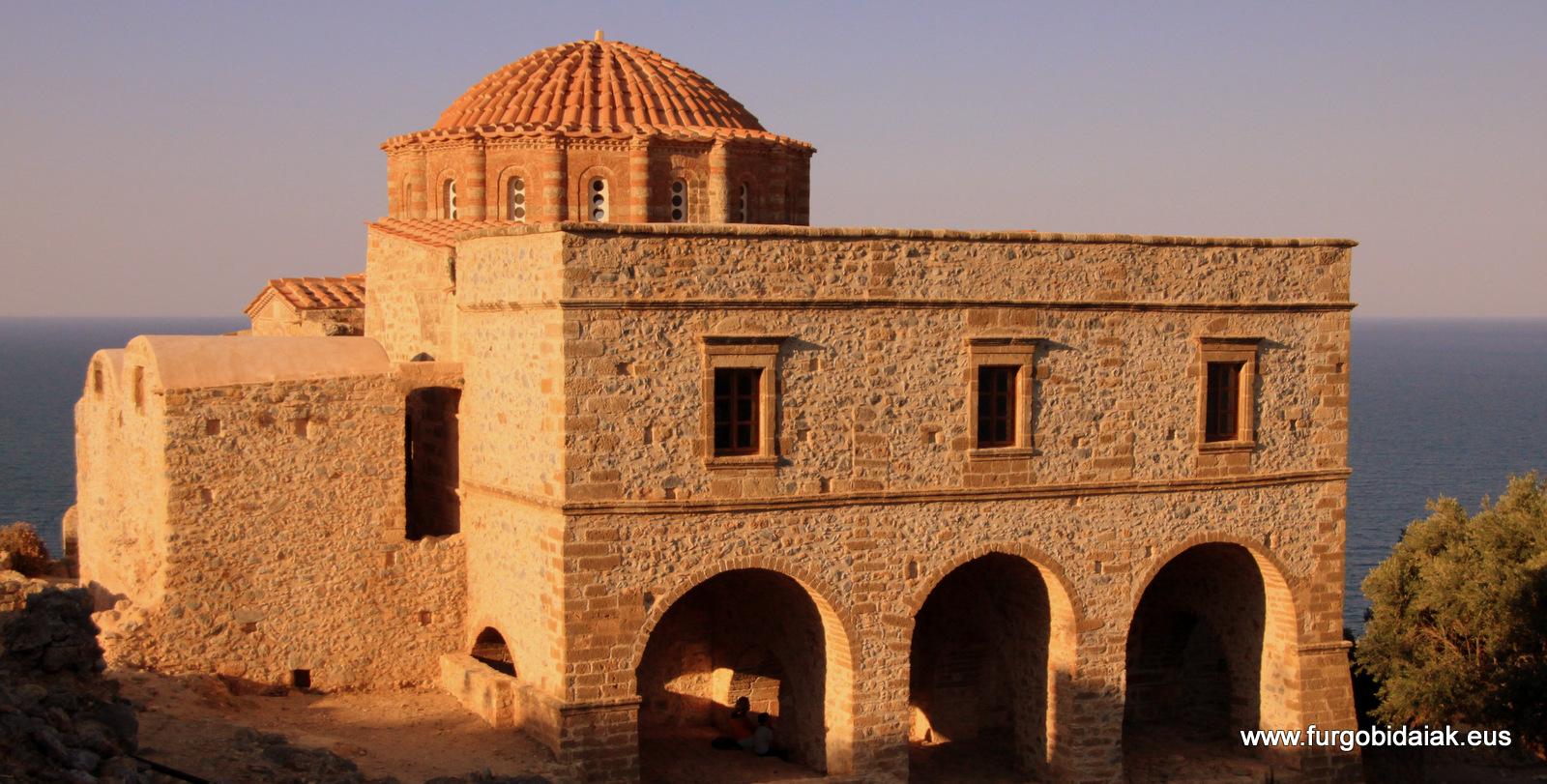 Agia Sofía, Monembasía, Peloponeso, Grecia