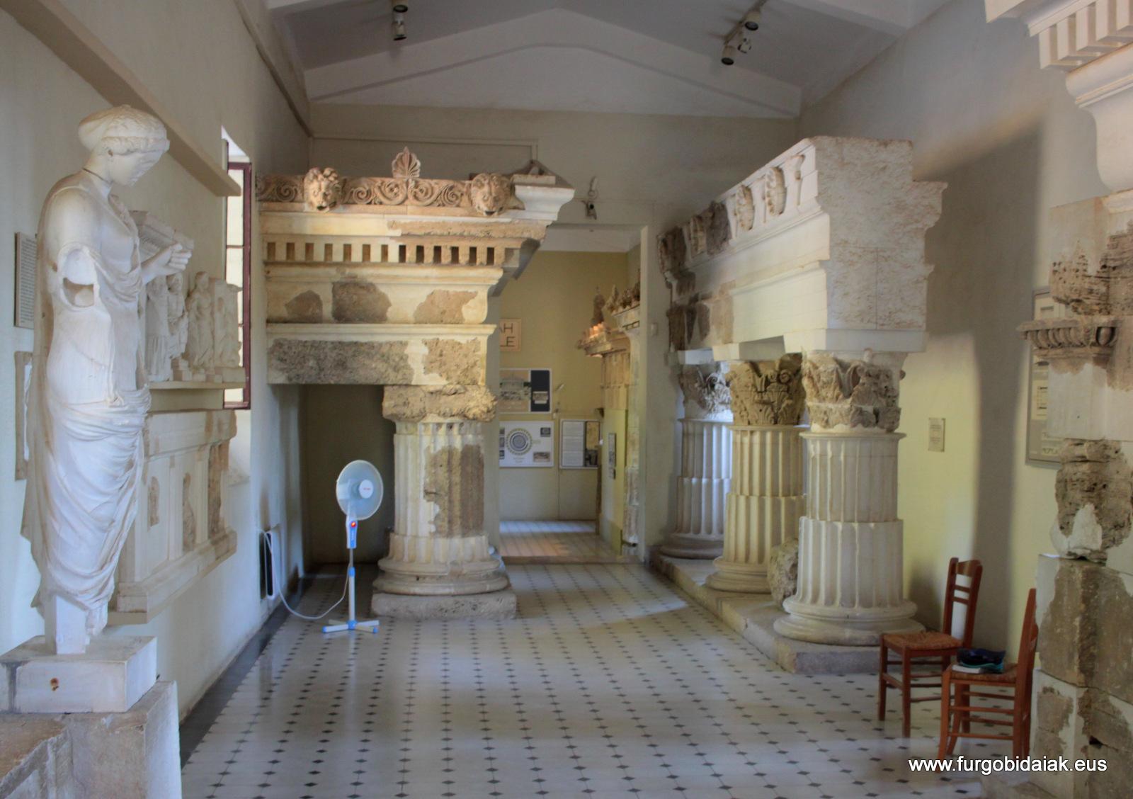Museo de Epidauro, Peloponeso, Grecia