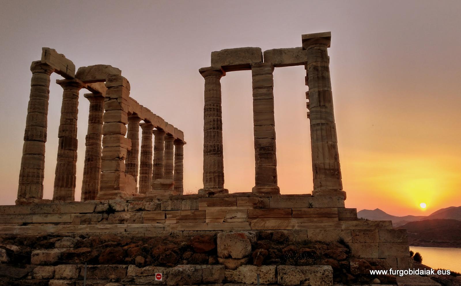 Cabo Sunio, Atenas, Grecia