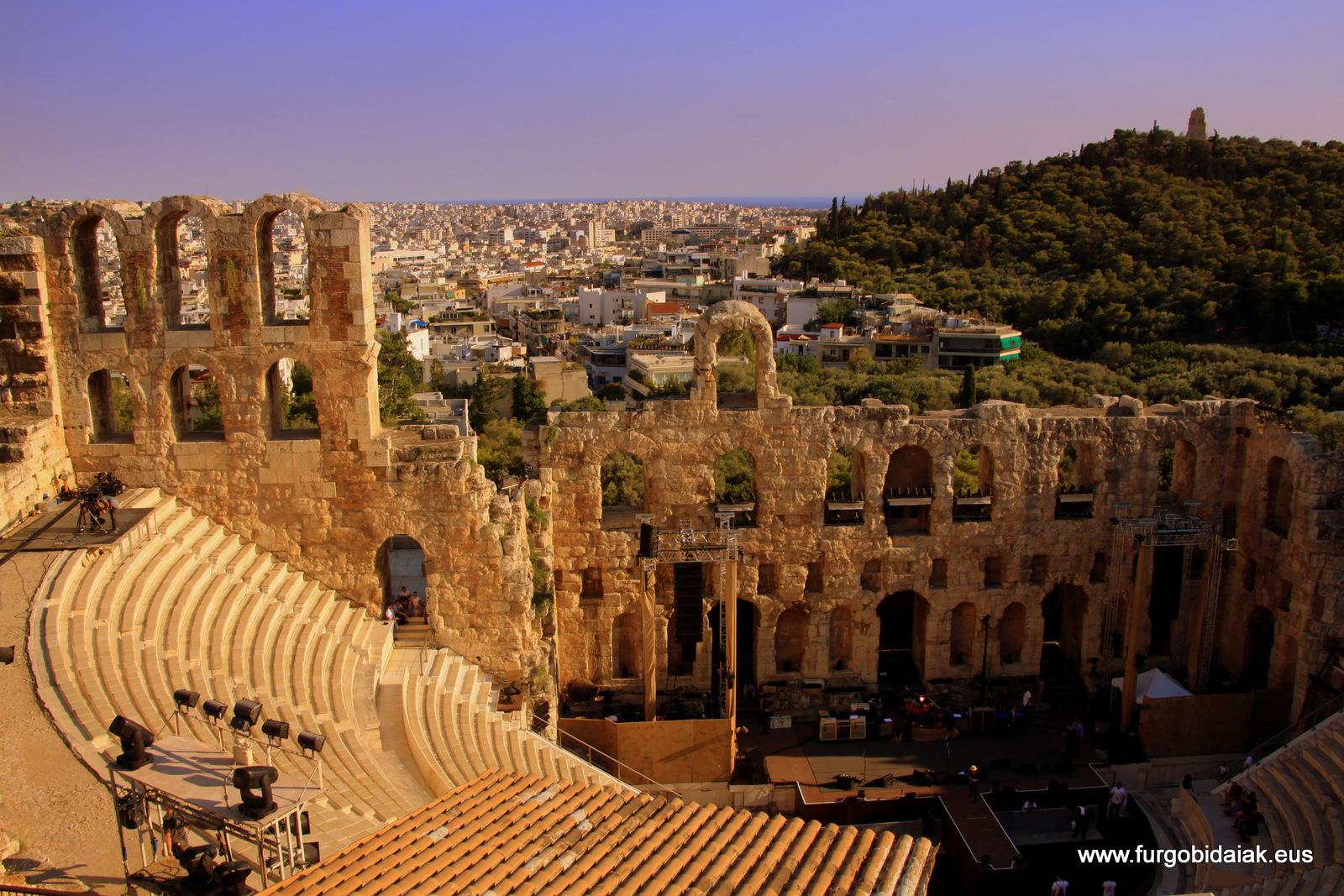 Teatro Herodes, Acrópolis, Atenas, Grecia