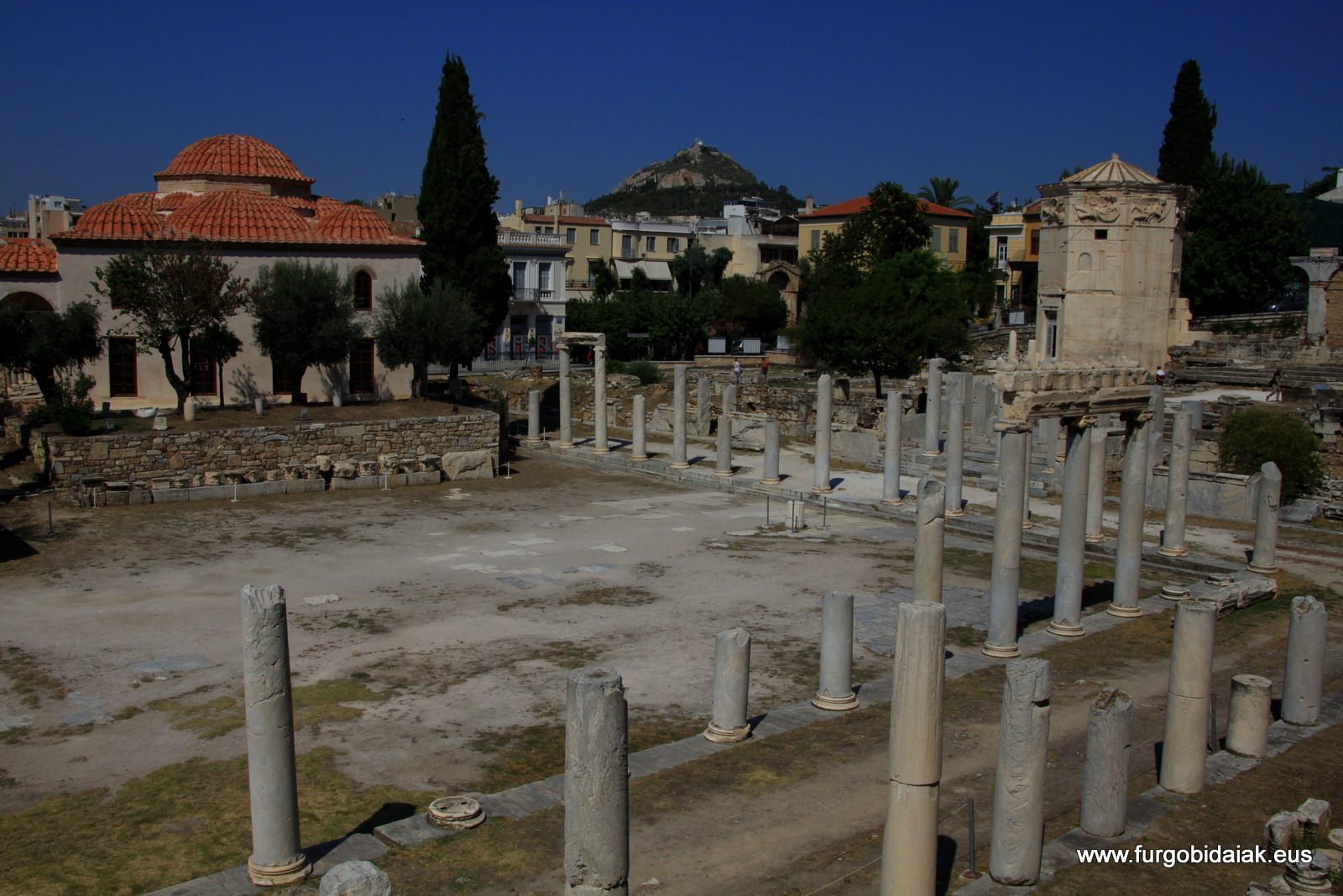 Agora romana, Atenas, Grecia