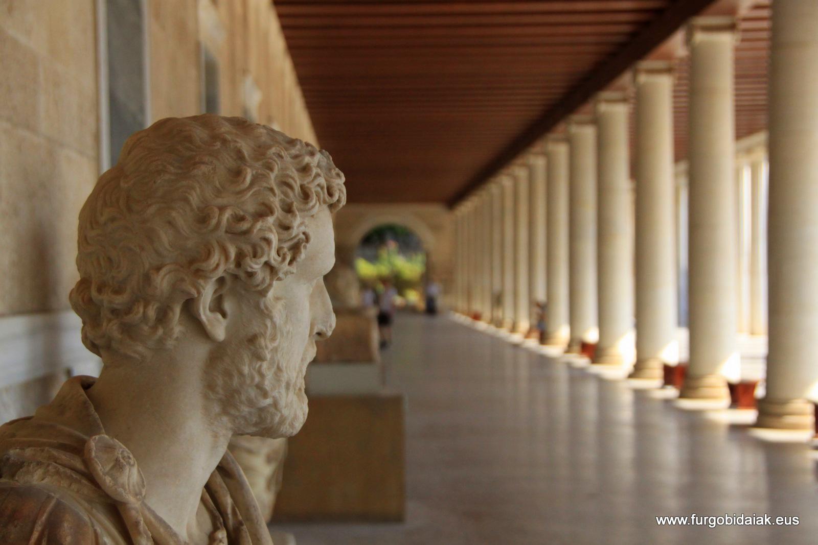 Agora griega, Atenas, Grecia