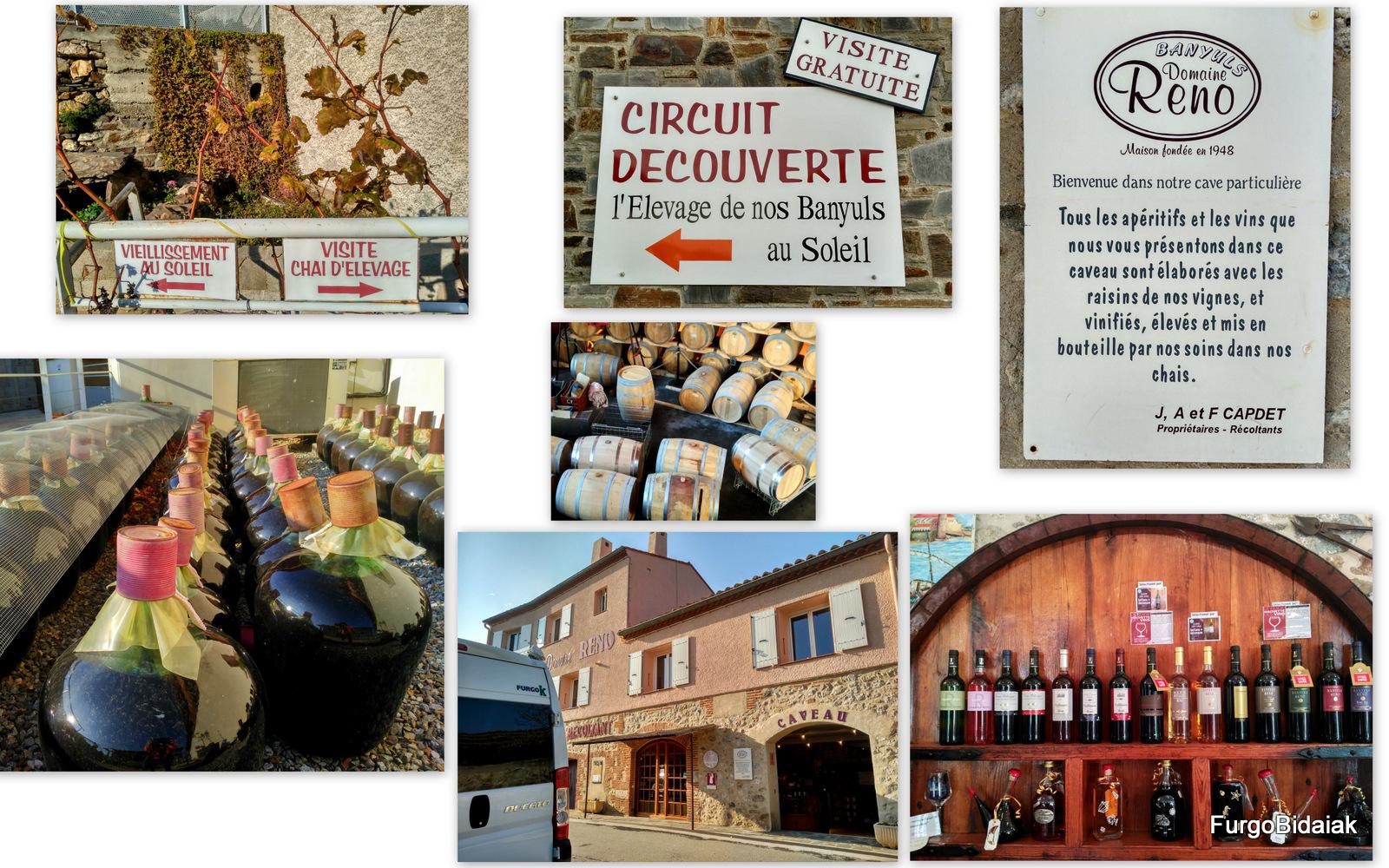 Domeine Reno,vin de Banyuls