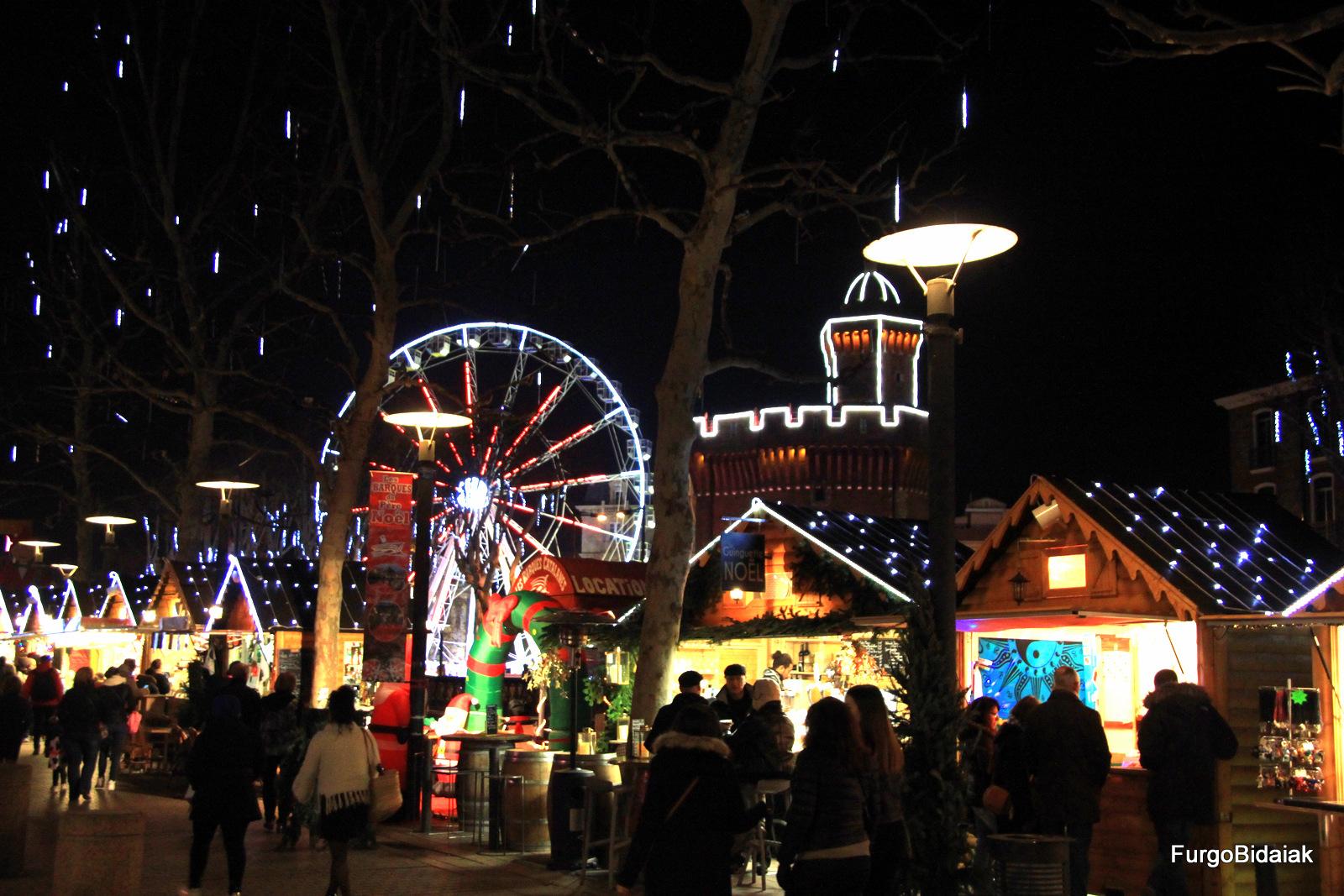 Mercado de Navidad Perpignan