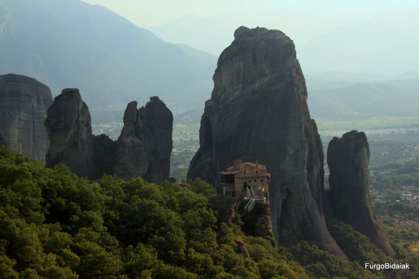 Monasterio Roussanou, Meteora , Grecia