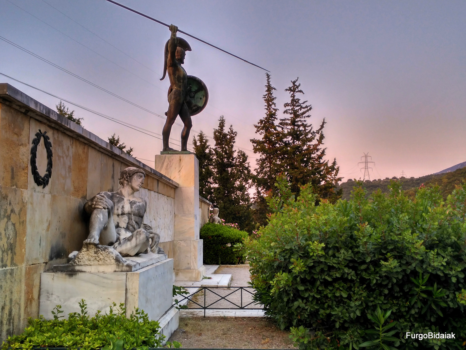 Paso de las Termópilas, rey Leonidas, Grecia