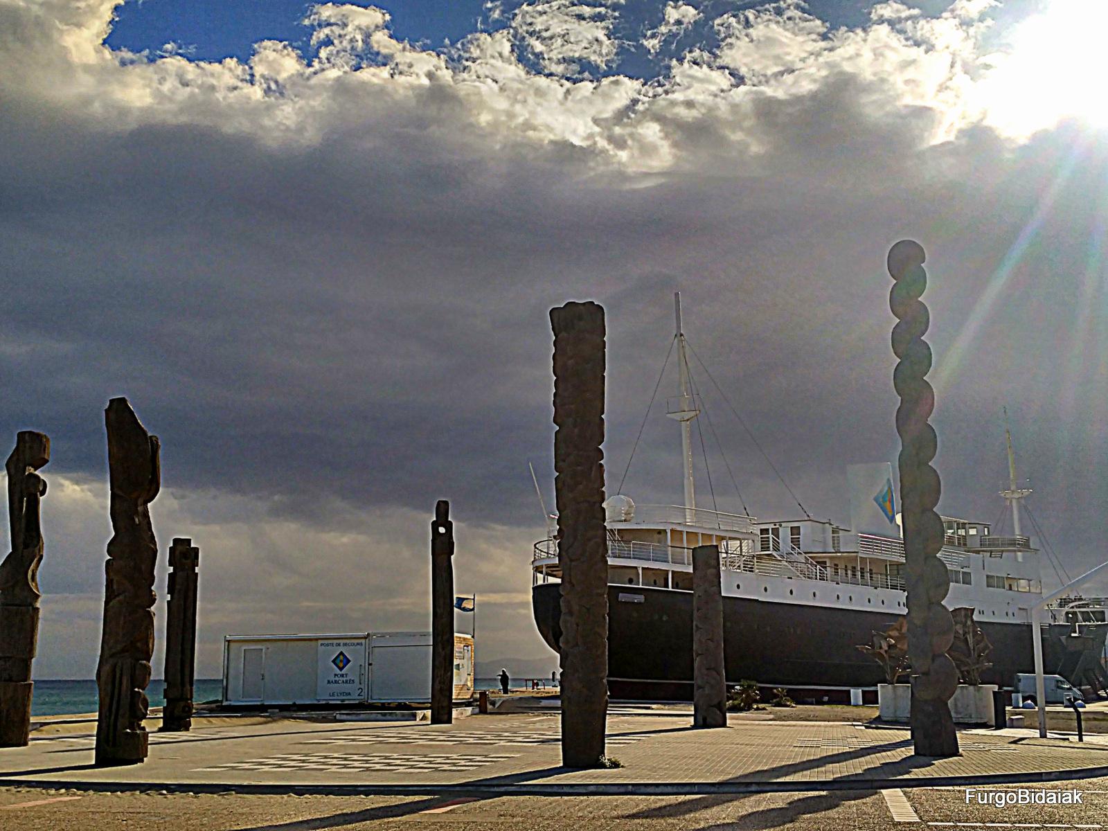 Transatlántico Lydia, Le Barcarés