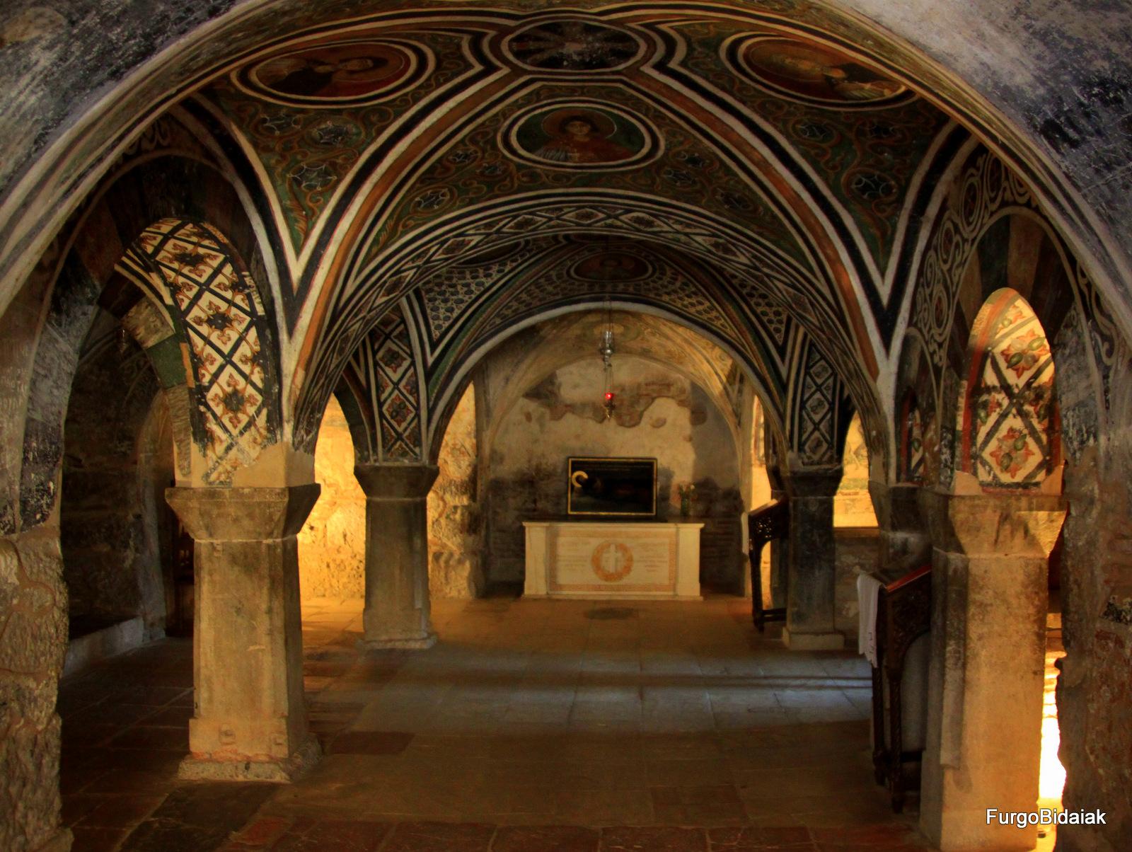 Cripta del monasterio Hosios Loukas, Grecia