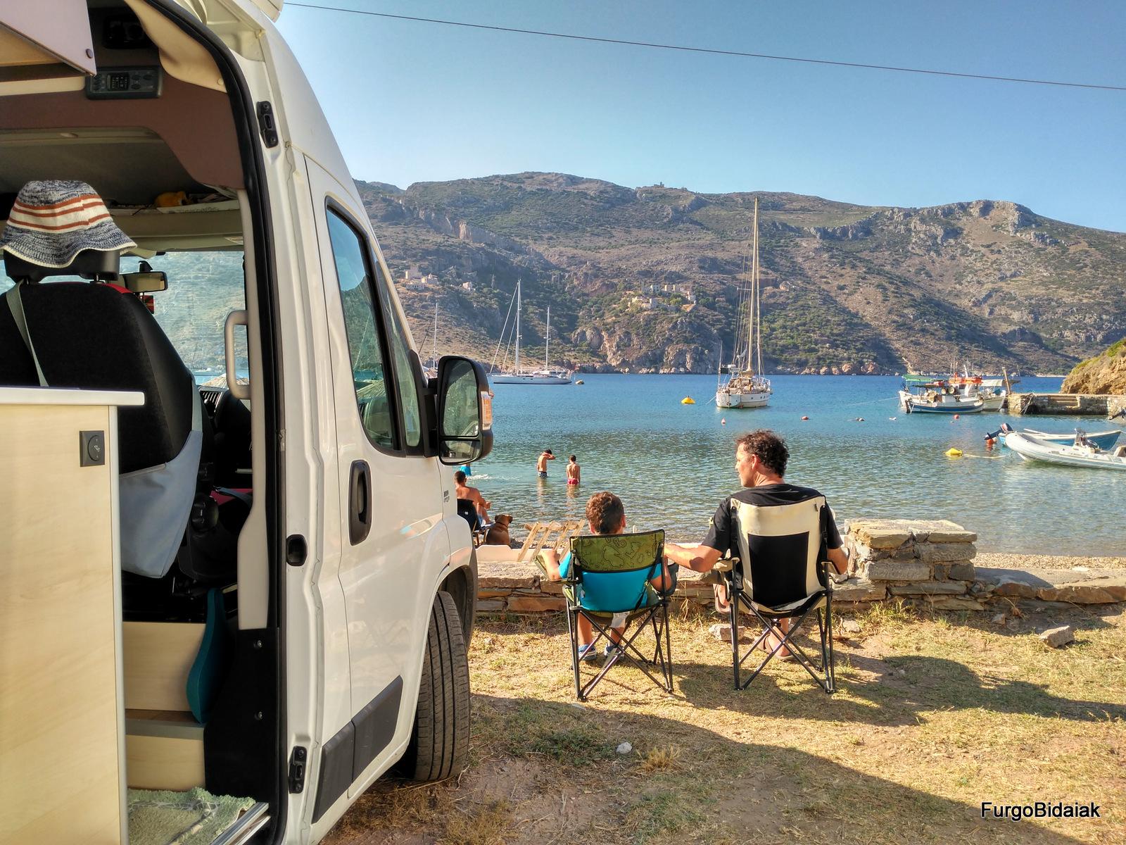 Pernocta libre autocaravana, consejos para viajar a Grecia